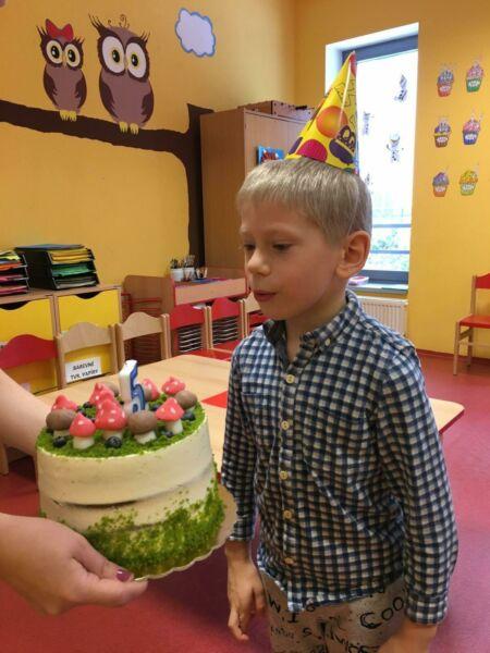 Oslava 5. narozenin Toníka