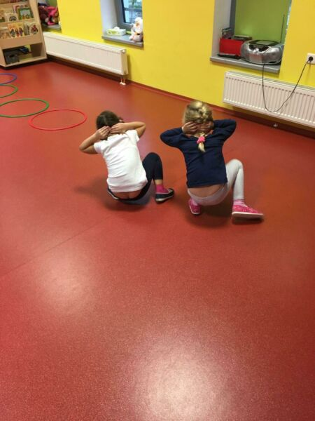 Sportovní gymnastika (říjen) - odpolední aktivita