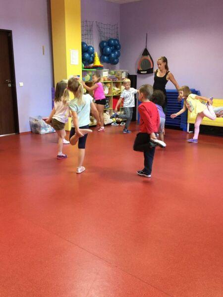 Sportovní gymnastika (září) - odpolední aktivita